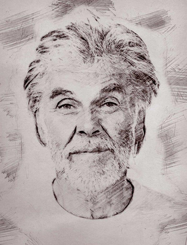 Bleistiftzeichnung Portrait